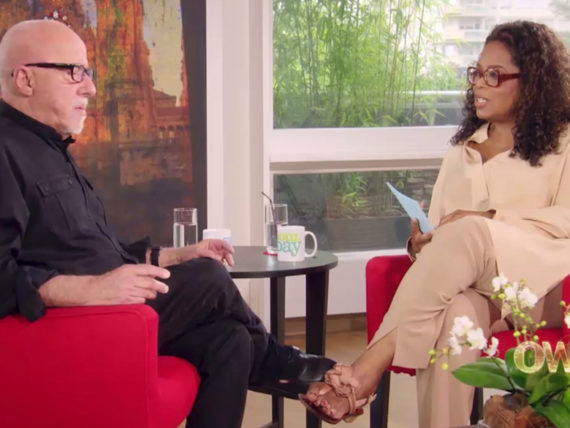HARPOSTUDIOS OPRAH WINFREY ET PAULO COELHO ABC NETWORK TV SHOW